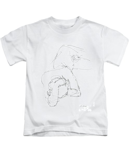 Nude Male Drawings 7 Kids T-Shirt