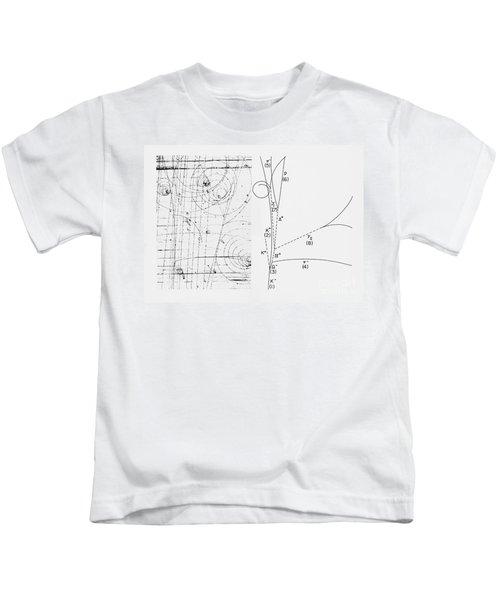 Omega-minus Particle, First Observation Kids T-Shirt