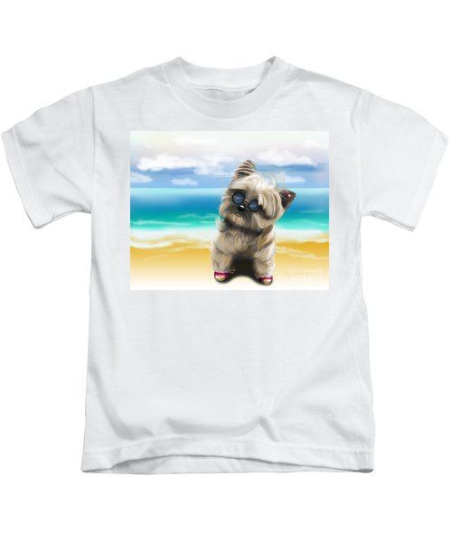 Petey In Coney Island Kids T-Shirt