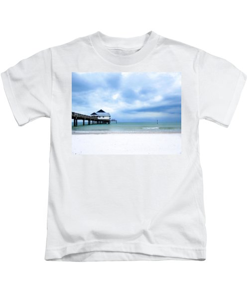 Pier 60 At Clearwater Beach Florida Kids T-Shirt