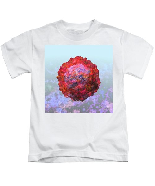 Polio Virus Particle Or Virion Poliovirus 2 Kids T-Shirt