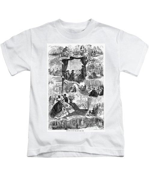 Poor New York, 1865 Kids T-Shirt