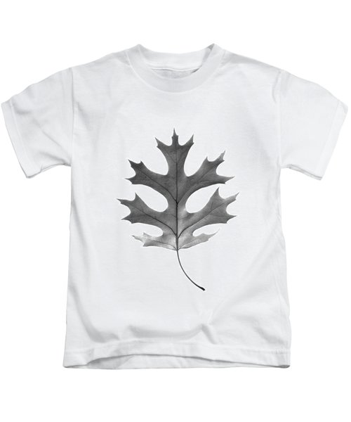 Red Oak Leaf Kids T-Shirt