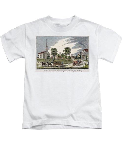 Roxbury, Massachusetts Kids T-Shirt