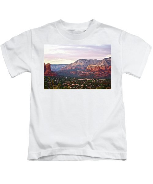 Sedona Evening Kids T-Shirt