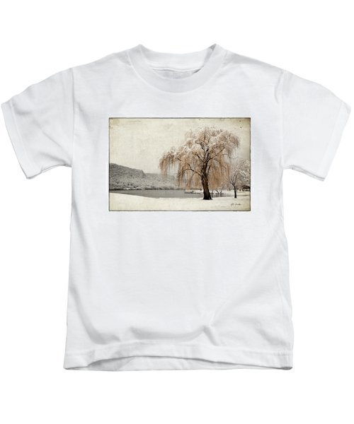 Snow Tree 1 Kids T-Shirt