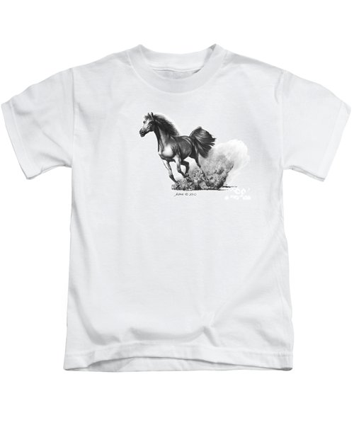 the Race is on  Kids T-Shirt