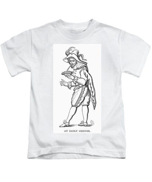 Tobacco Chewing, C1600 Kids T-Shirt
