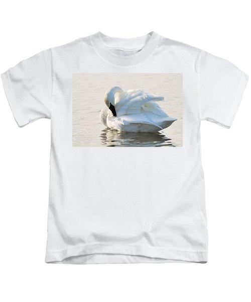 Tumpeter Swan Kids T-Shirt