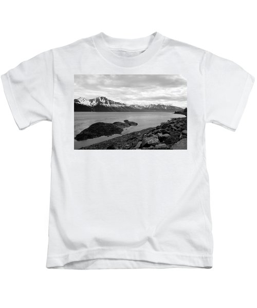 Turnagain Arm Alaska Kids T-Shirt