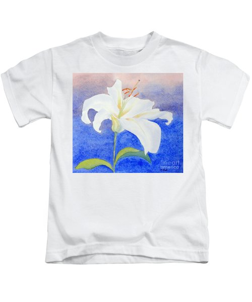 White Lily Kids T-Shirt
