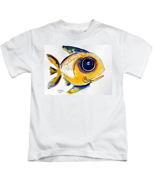 Yellow Study Fish Kids T-Shirt