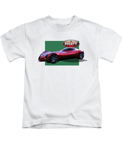 2025 Bugatti Aerolithe Concept With 3 D Badge  Kids T-Shirt