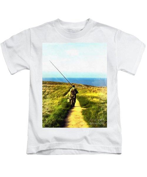 A Plaice To Fish Kids T-Shirt
