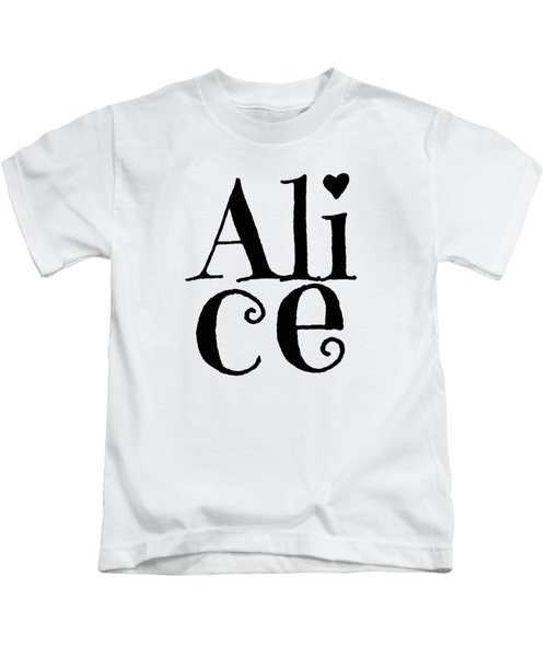 Alice Kids T-Shirt