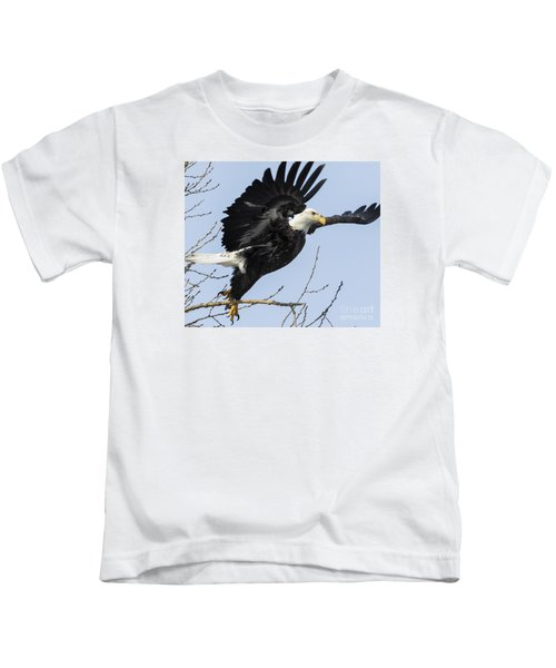 American Bald Eagle Kids T-Shirt