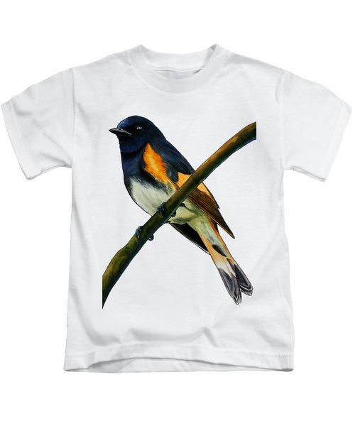 American Redstart Kids T-Shirt