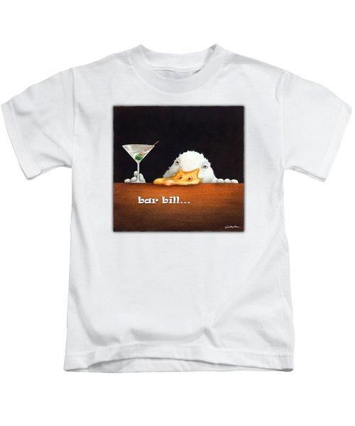Bar Bill... Kids T-Shirt
