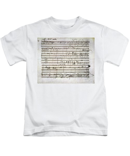 Beethoven Manuscript Kids T-Shirt