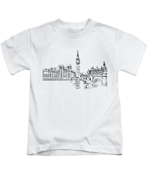 Big Ben Kids T-Shirt by ISAW Gallery