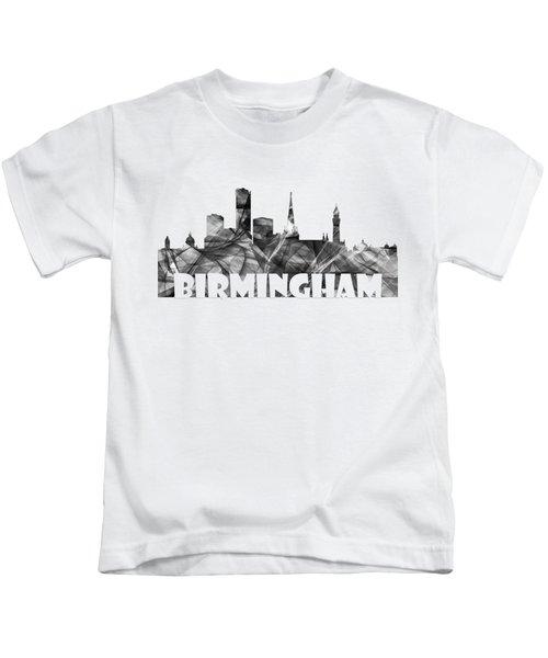 Birmingham England Skyline Kids T-Shirt