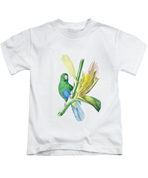 Brazilian Parrot Kids T-Shirt by Philip Ralley