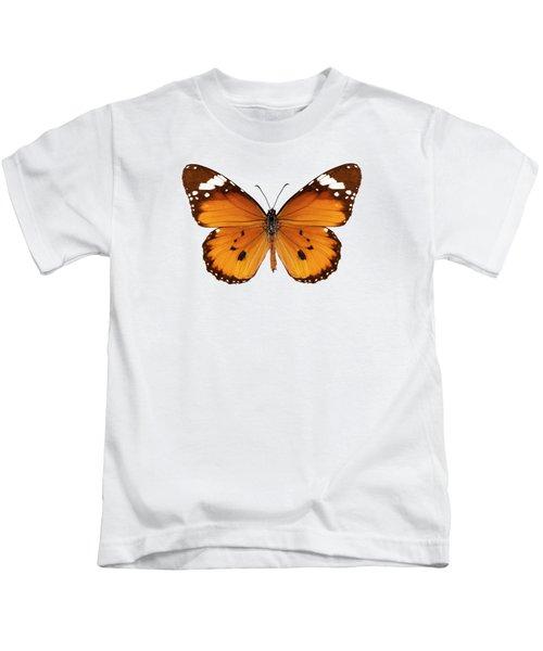 Butterfly Species Danaus Chrysippus  Kids T-Shirt