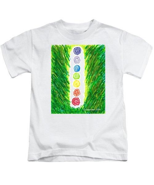 Chakra Garden Kids T-Shirt