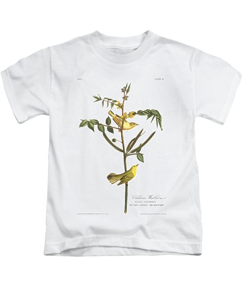 Children's Warbler Kids T-Shirt