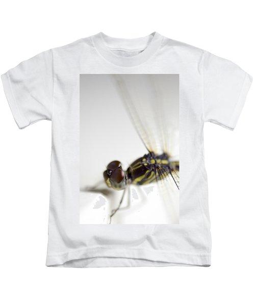 Close Up Shoot Of A Anisoptera Dragonfly Kids T-Shirt