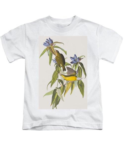 Connecticut Warbler Kids T-Shirt