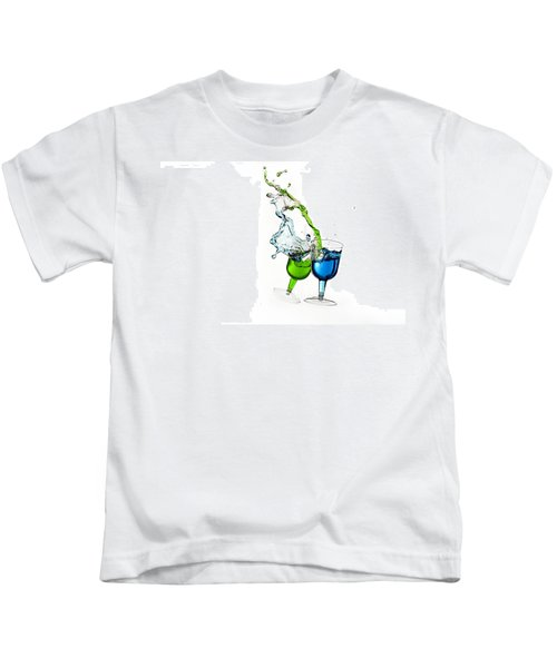 Dancing Drinks Kids T-Shirt