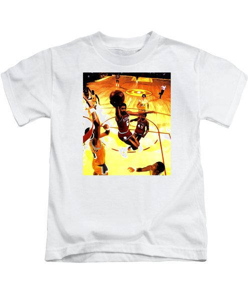 Doctor J Kids T-Shirt by Brian Reaves