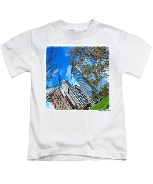 #downtown #houston On A #beautiful Kids T-Shirt