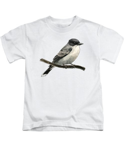 Eastern Kingbird Kids T-Shirt