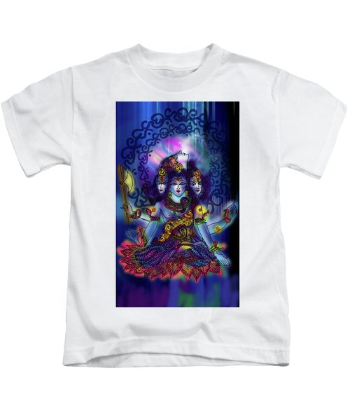 Enlightened Shiva Kids T-Shirt