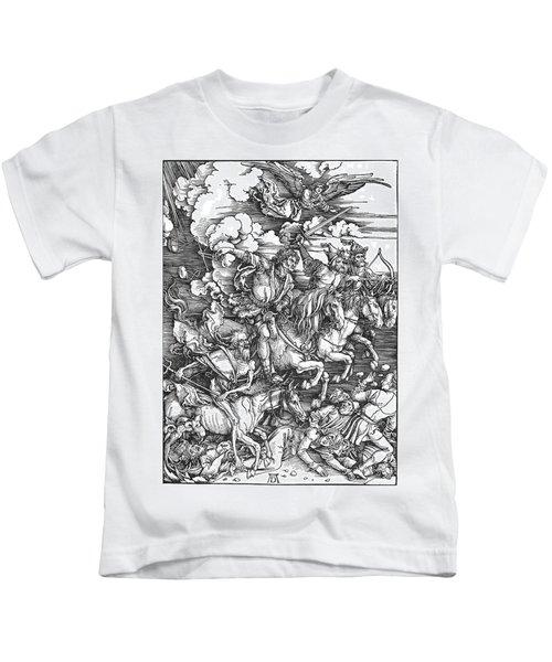 Four Horsemen Of The Apocalypse Kids T-Shirt