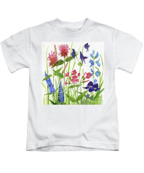 Garden Flowers Kids T-Shirt