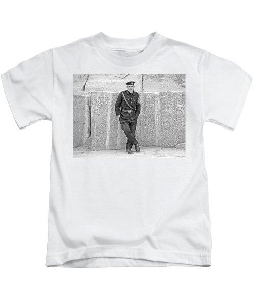 Giza Pyramids Tourist Police Kids T-Shirt
