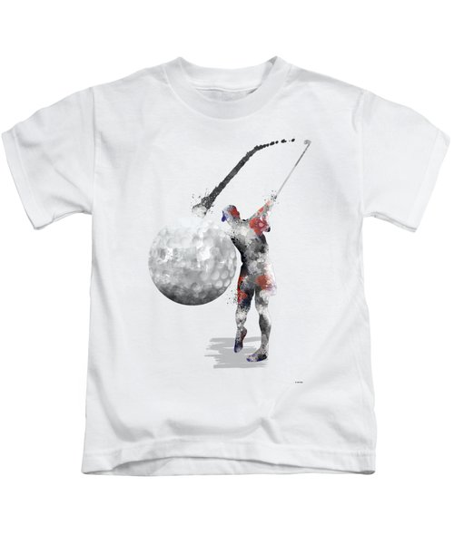 Golf Player Kids T-Shirt