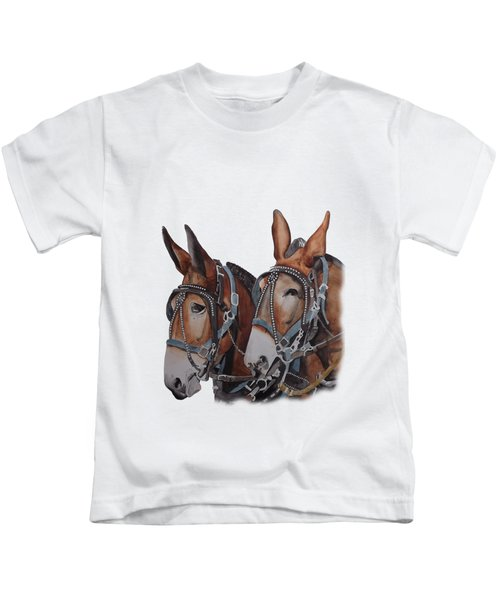 Hitched Kids T-Shirt by Gary Thomas