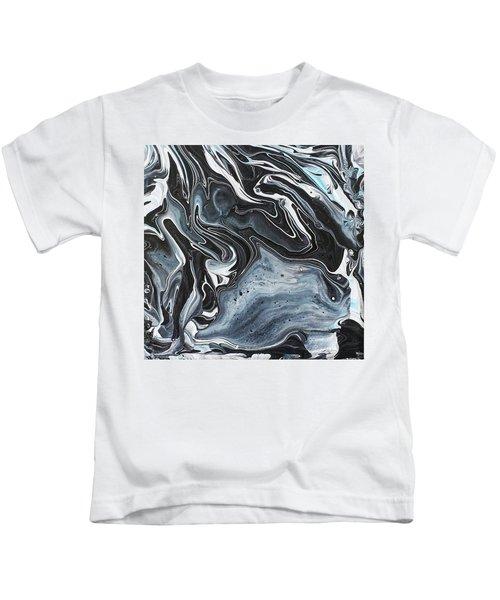 I Know It Looks Like Marble Kids T-Shirt