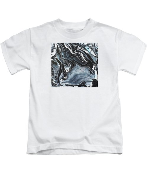 I Know It Looks Like Marble Kids T-Shirt