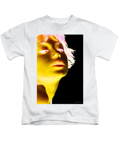 Inverted Realities - Yellow  Kids T-Shirt