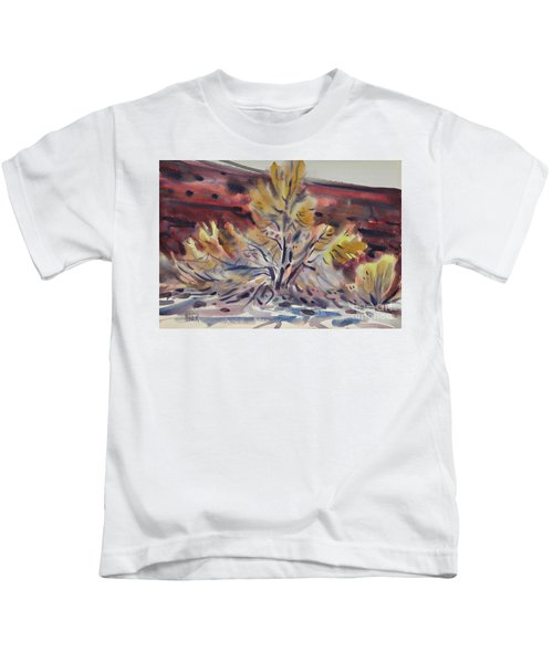 Ironwood Kids T-Shirt by Donald Maier