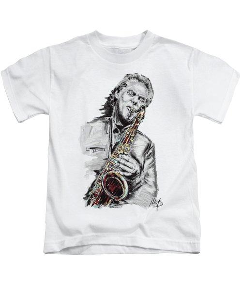 Jan Garbarek Kids T-Shirt
