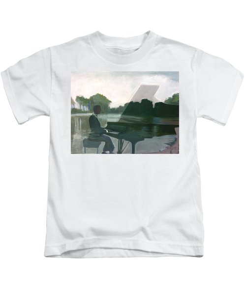 Justin Levitt Steinway Piano Spreckles Lake Kids T-Shirt