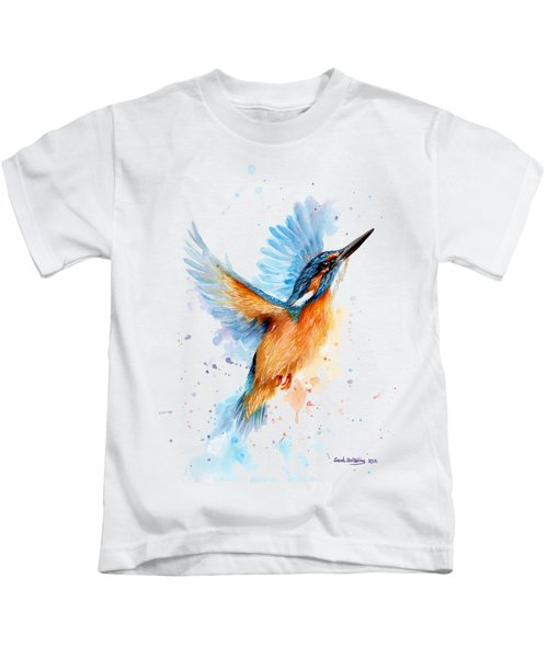 Kingfisher Kids T-Shirt by Sarah Stribbling