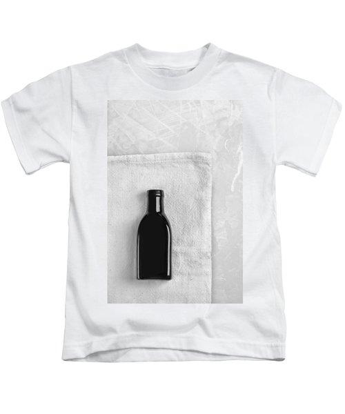 Little Black Bottle  Kids T-Shirt