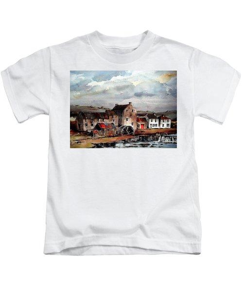 Mill At Bruree, Limerick Kids T-Shirt
